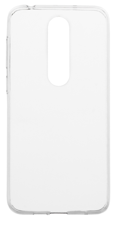 Накладка skinBOX для Nokia X6/6.1 Plus, прозрачный