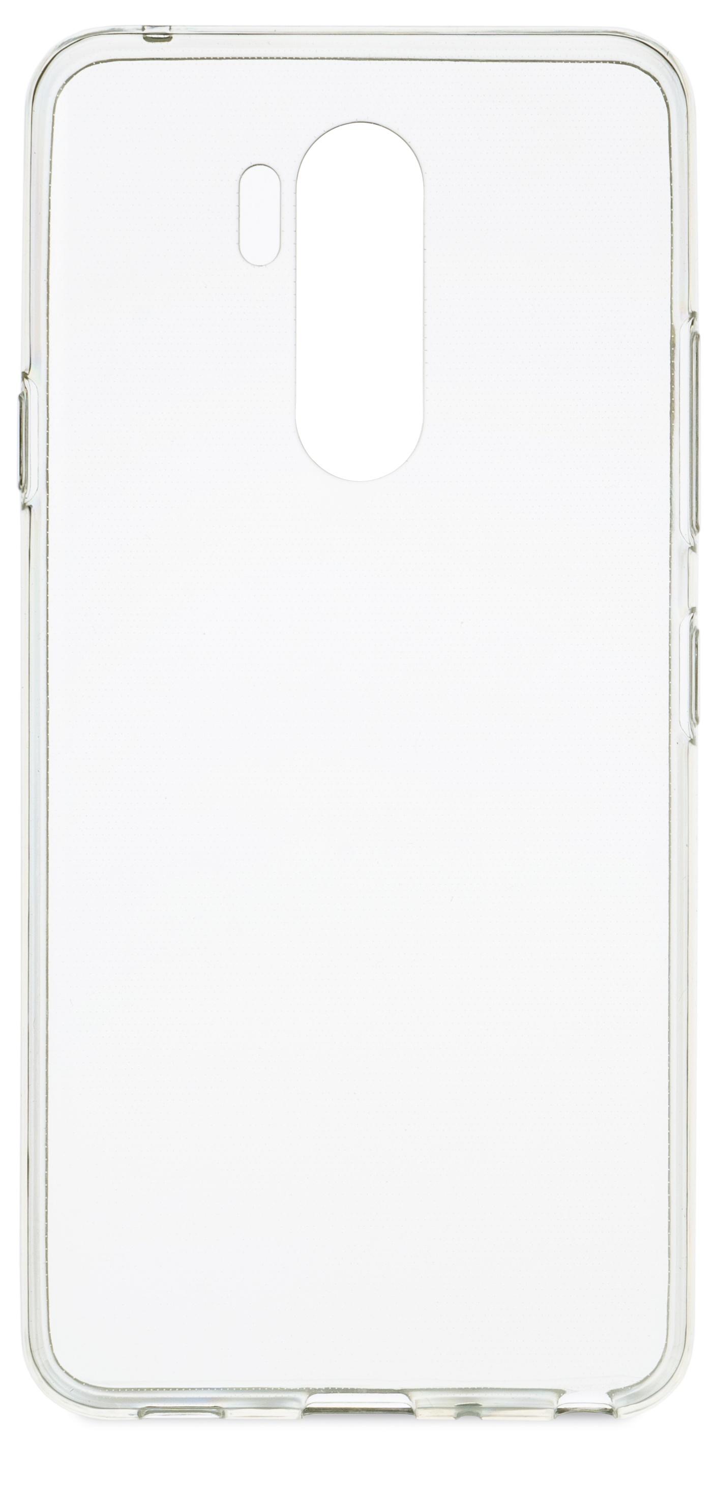 Накладка skinBOX для LG G7 ThinQ, прозрачный цена и фото