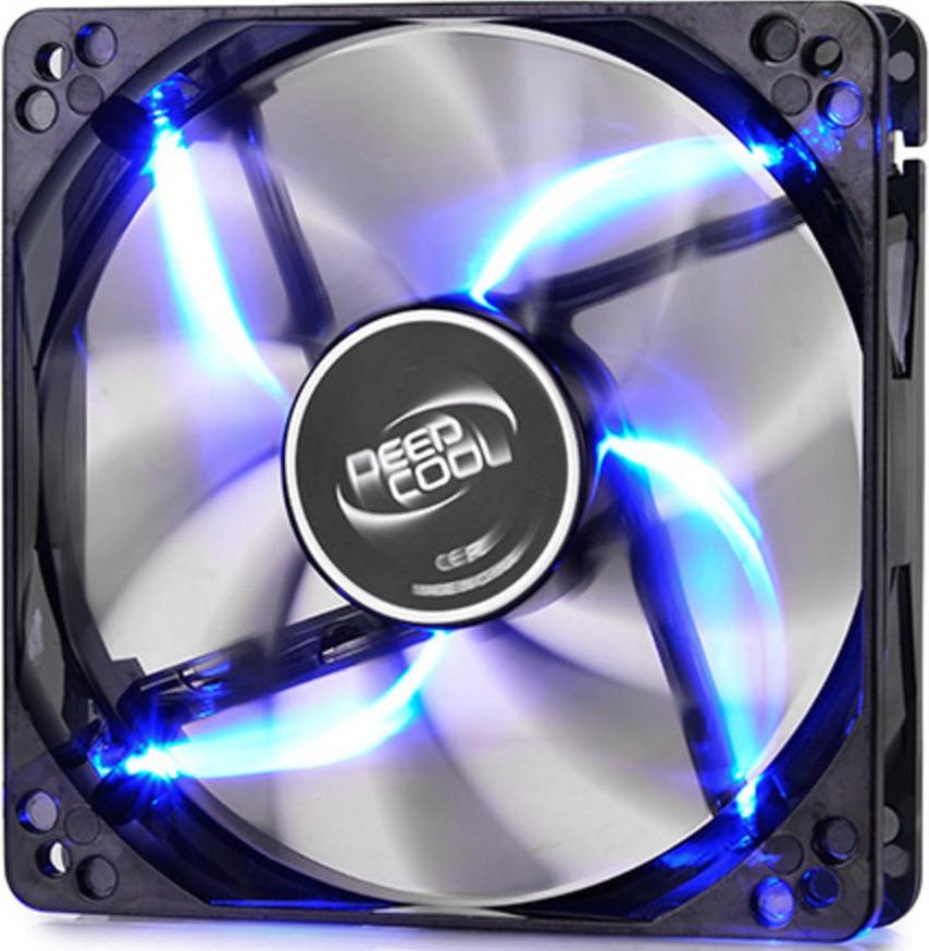 Вентилятор компьютерный Deepcool Wind Blade 80, WINDBLADE80 удлинитель molex 4 pin