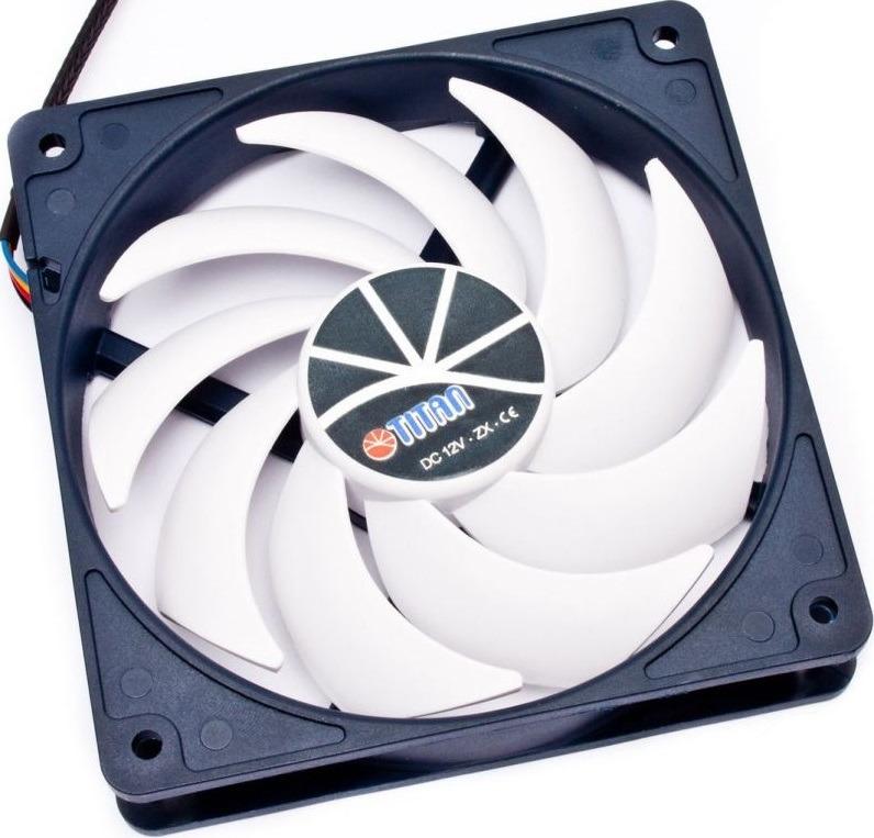 Вентилятор компьютерный Titan, TFD-9225H12ZP/KU(RB) вентилятор gembird fancase2 ball 90x90x25 3pin