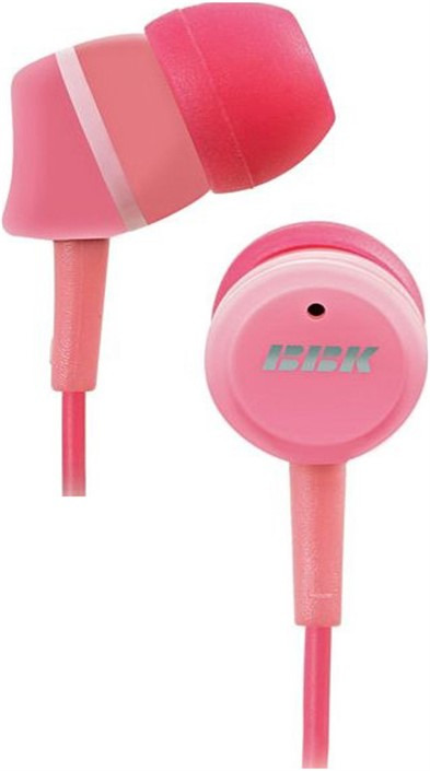 цена на Наушники-вкладыши BBK EP-1220S, 693625, розовый