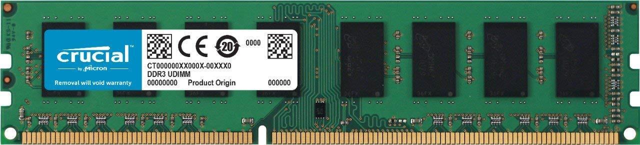 Модуль оперативной памяти Crucial DDR3L 2Gb 1600MHz, CT25664BD160B модуль памяти dimm 8gb ddr3l pc12800 1600mhz kingston kvr16ln11 8