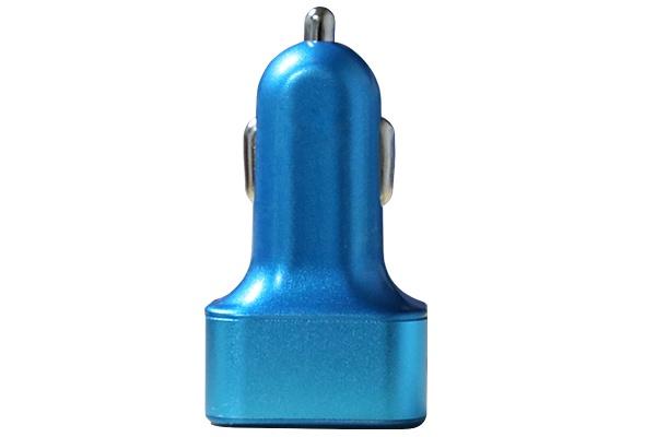 Ainy Автомобильное зарядное устройство EB-025N с 3-мя USB без провода (3.1A) синий зарядное устройство ainy 2xusb 1a 2 4a eb 018a black