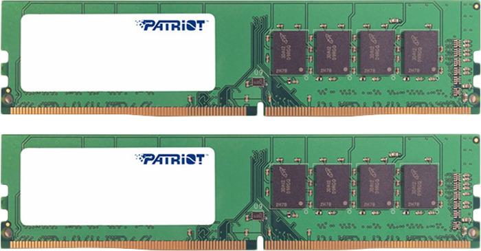 Модуль оперативной памяти Patriot DDR4 2x4Gb 2133MHz, PSD48G2133K модуль памяти kingston ddr4 dimm 2133mhz pc4 17000 cl15 8gb kvr21n15s8 8
