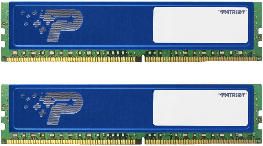 Модуль оперативной памяти Patriot DDR4 2x4Gb 2133MHz, PSD48G2133KH модуль памяти kingston ddr4 dimm 2133mhz pc4 17000 cl15 8gb kvr21n15s8 8