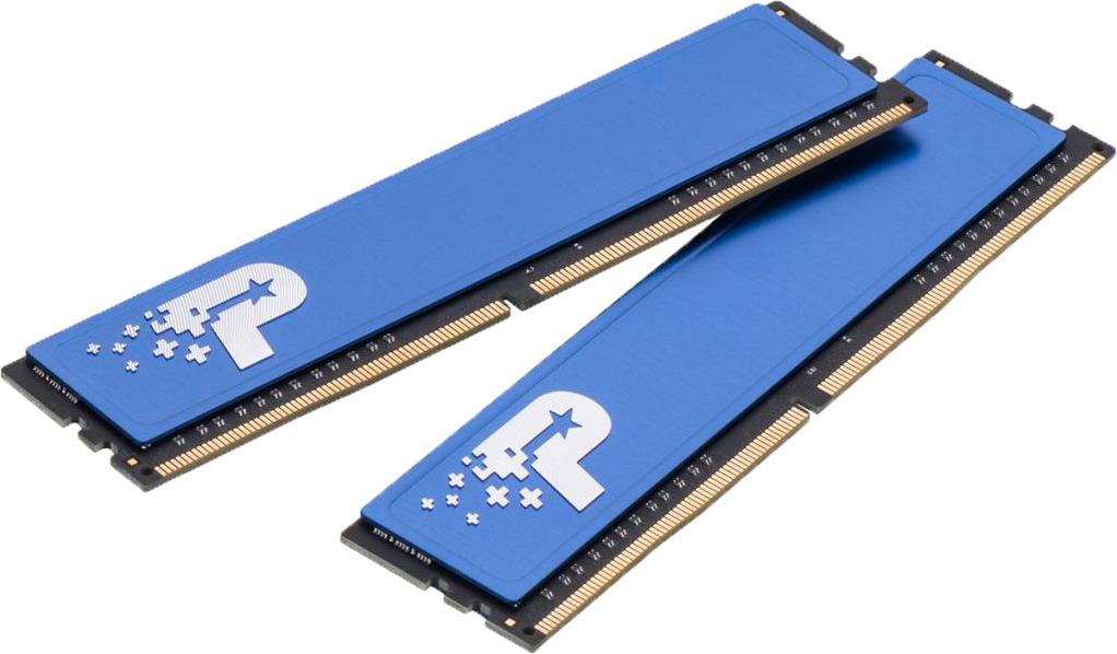 Модуль оперативной памяти Patriot DDR4 2x4Gb 2400MHz, PSD48G2400KH