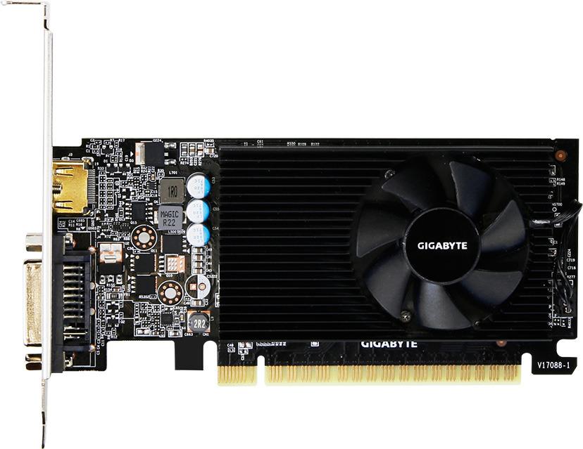 Видеокарта Gigabyte GeForce GT 730 2GB, GV-N730D5-2GL видеокарта gigabyte geforce gt 730 gv n730d5 2gl pci e 2048mb 64 bit retail