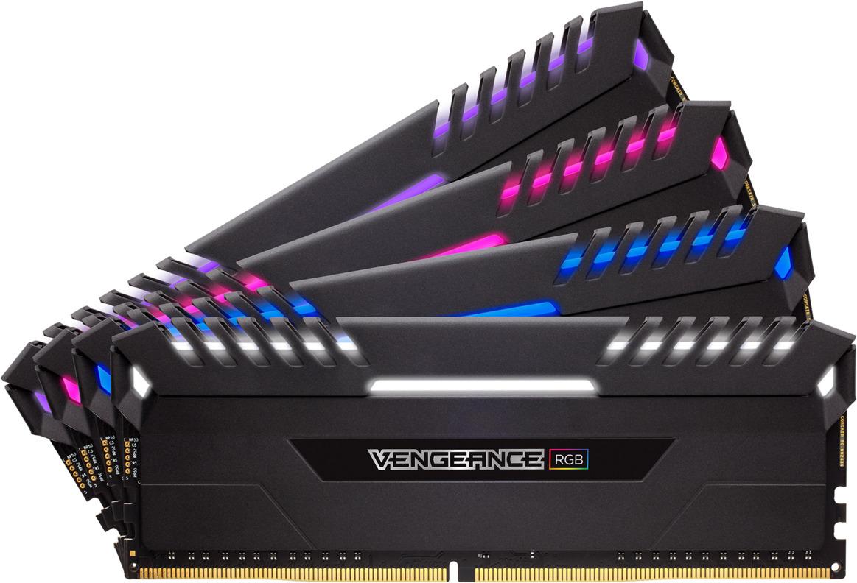 Модуль оперативной памяти Corsair DDR4 4x16Gb 3000MHz, CMR64GX4M4C3000C15 модуль памяти dimm 32gb 2х16gb ddr4 pc24000 3000mhz corsair vengeance black heat spreader custom performance pcb rgb led xmp 2 0 cmr32gx4m2d3000c16