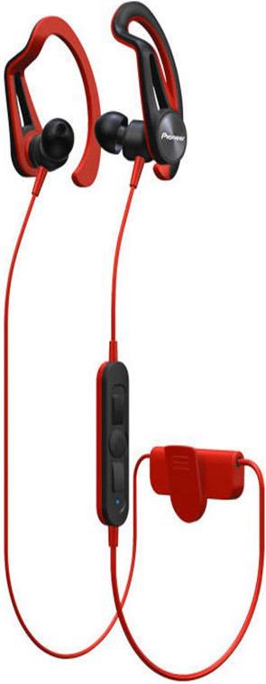 Беспроводные наушники Pioneer SE-E7BT, красный наушники беспроводные pioneer se e7bt r красные с микрофоном
