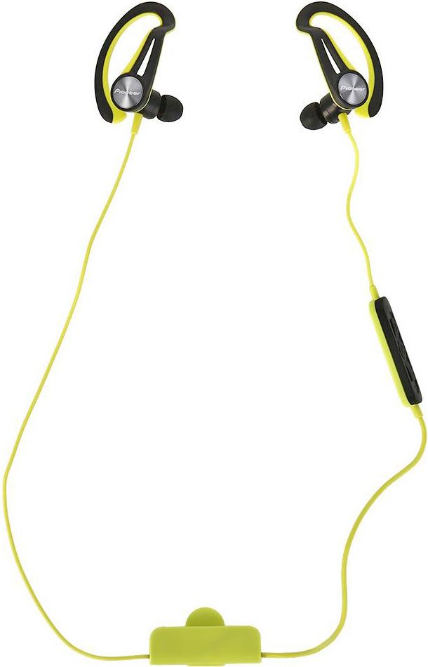 Беспроводные наушники Pioneer SE-E7BT, желтый наушники беспроводные pioneer se e7bt r красные с микрофоном