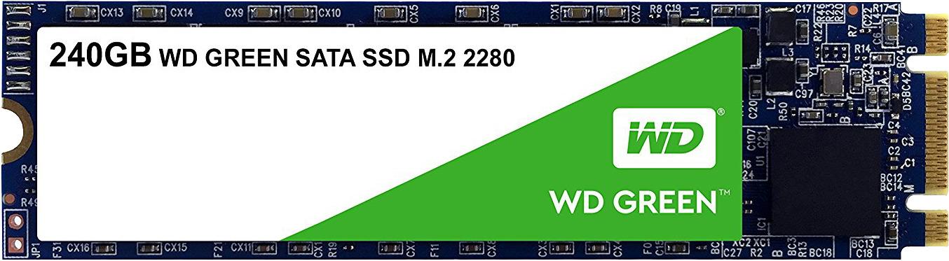 SSD накопитель WD Original 240GB, WDS240G2G0B, Green