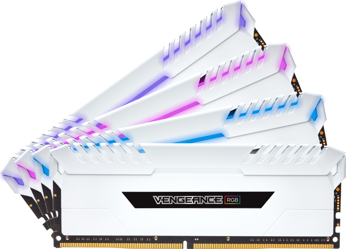 Модуль оперативной памяти Corsair DDR4 4x8Gb 3200MHz, CMR32GX4M4C3200C16W
