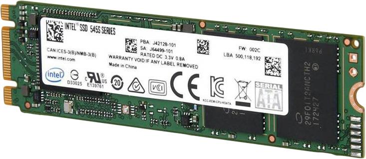 SSD накопитель Intel 545s Series Original 128GB, SSDSCKKW128G8X1 959549 накопитель ssd intel 540s series ssdsckkw240h6x1 240гб m 2 2280 sata iii [ssdsckkw240h6x1 948578]