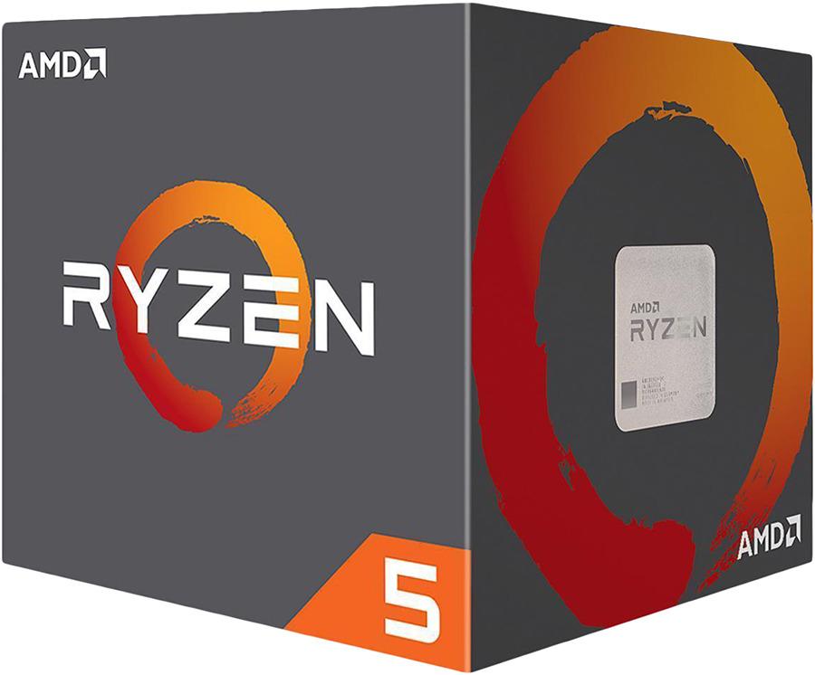 Процессор AMD Ryzen 5 2600X BOX, YD260XBCAFBOXYD260XBCAFBOX