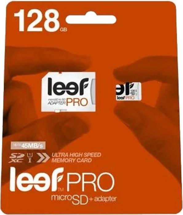 Карта памяти Leef Class 10, без адаптера, LFMSD-12810R, 128GB