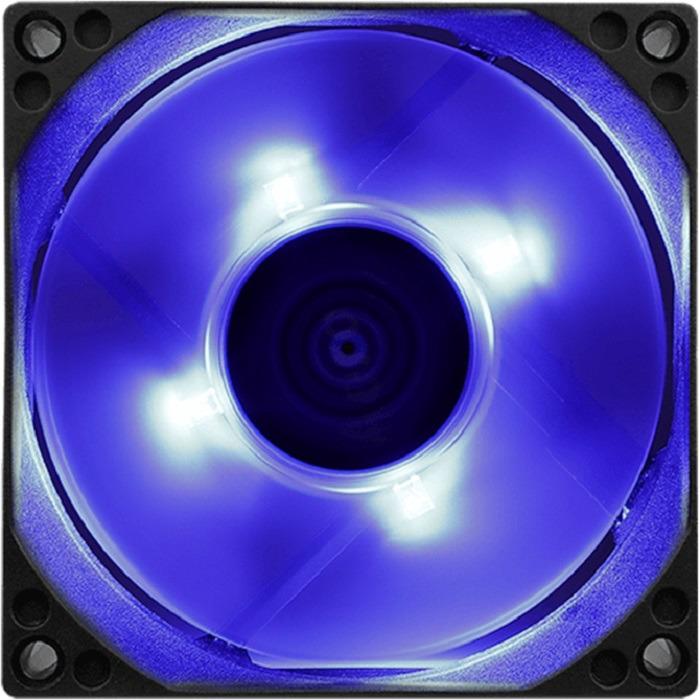 Вентилятор компьютерный Aerocool Motion 8 Blue-3P, MOTION 8 BLUE-3P 80 fga50s110p to 3p