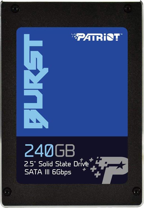 SSD накопитель Patriot Burst 240GB, PBU240GS25SSDR цены онлайн