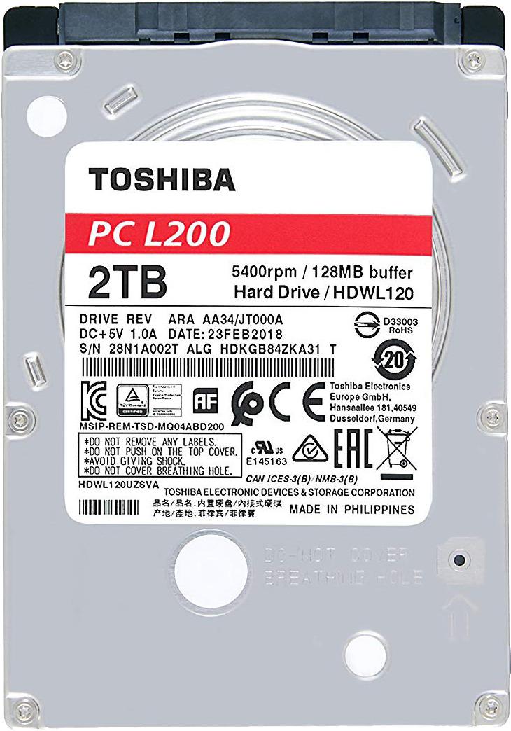 Жесткий диск Toshiba 2TB, HDWL120EZSTA все цены