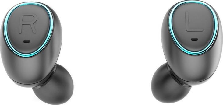 Беспроводные наушники Digma TWS-04, черный bluetooth гарнитура tws v4 qm 01 004dv01 black