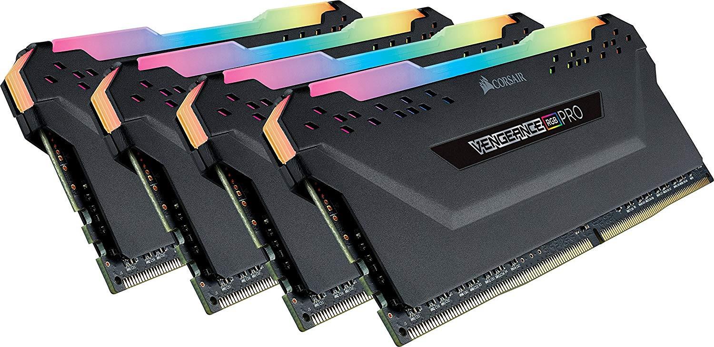 Модуль оперативной памяти Corsair DDR4 4x8Gb 3000MHz, CMW32GX4M4C3000C15 модуль памяти dimm 32gb 2х16gb ddr4 pc24000 3000mhz corsair vengeance black heat spreader custom performance pcb rgb led xmp 2 0 cmr32gx4m2d3000c16
