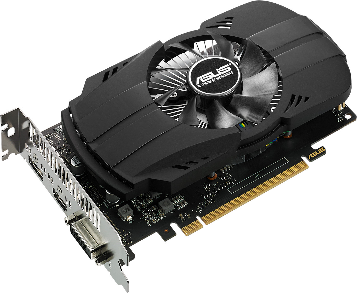Видеокарта ASUS Phoenix GeForce GTX 1050 3GB, PH-GTX1050-3G цена и фото