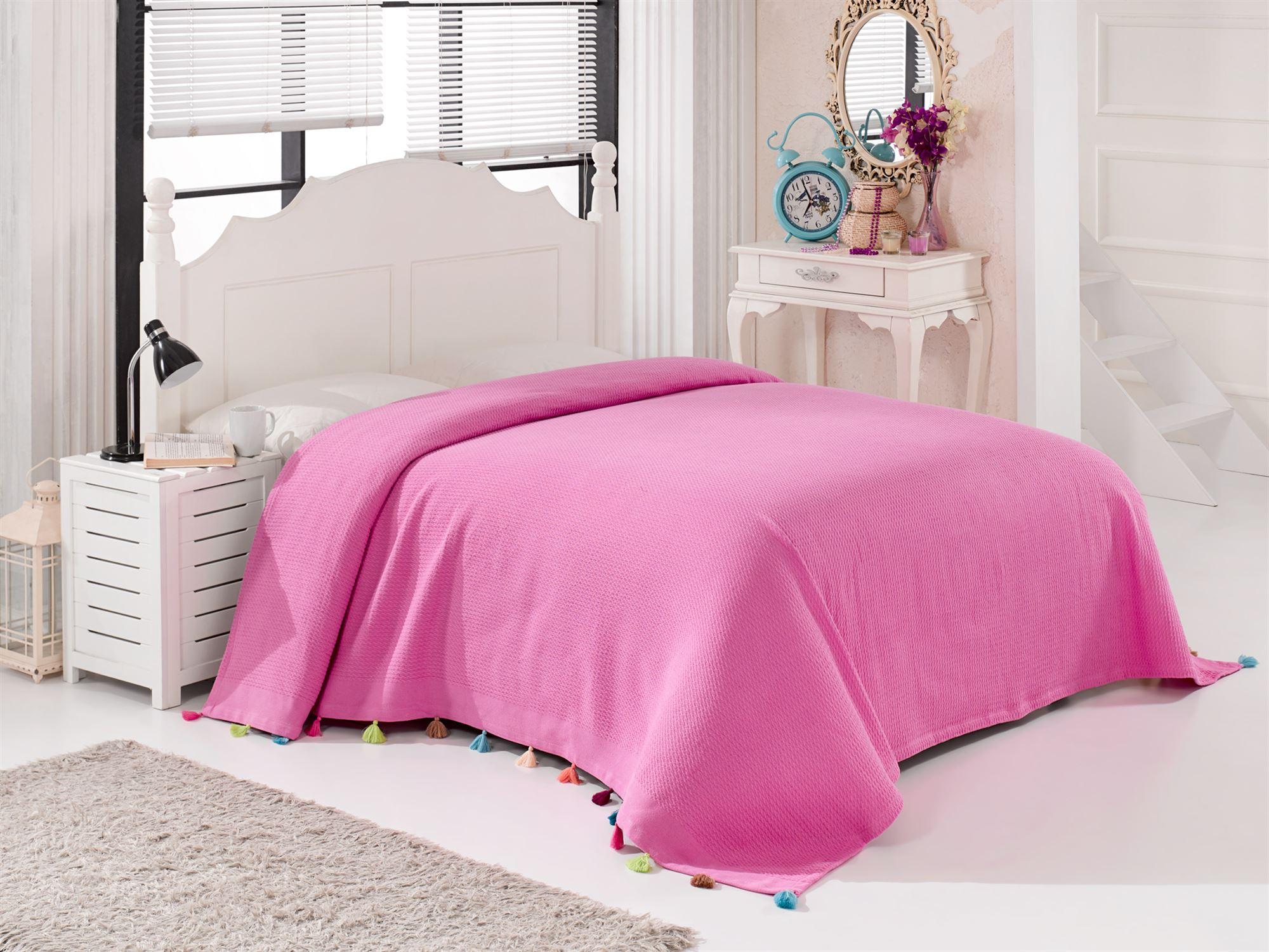 Покрывало DO&CO POP 9849-160_розовый розовый