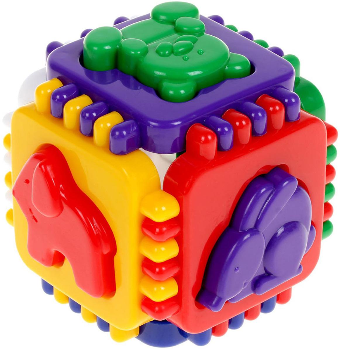 Сортер MaxGroup Кубик логический, 2699752 stellar развивающая игра сортер логический кубик 01314