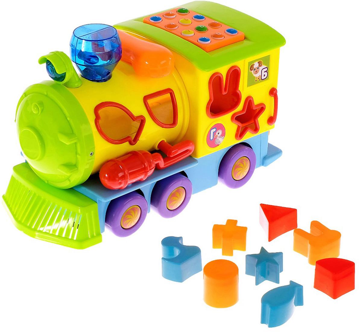 Музыкальная игрушка Zabiaka Паровоз, 3601999