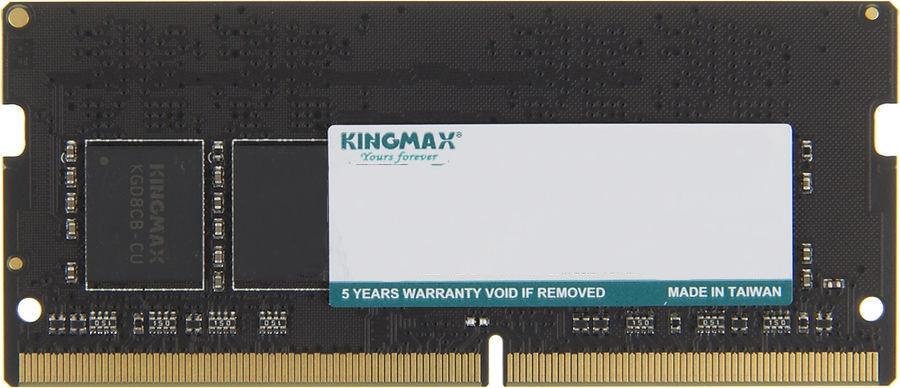Модуль оперативной памяти Kingmax DDR4 4Gb 2400MHz, KM-SD4-2400-4GS