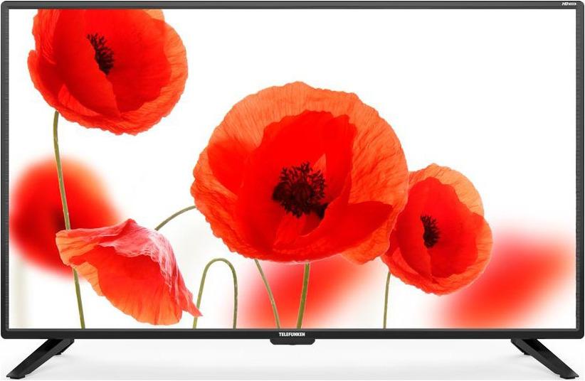 Телевизор Telefunken TF-LED39S62T2 39, черный телевизор telefunken tf led39s52t2 черный