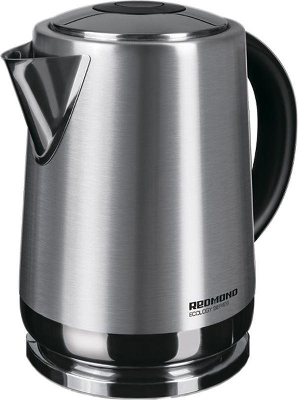 Чайник электрический Redmond, RK-M1482, серый металлик