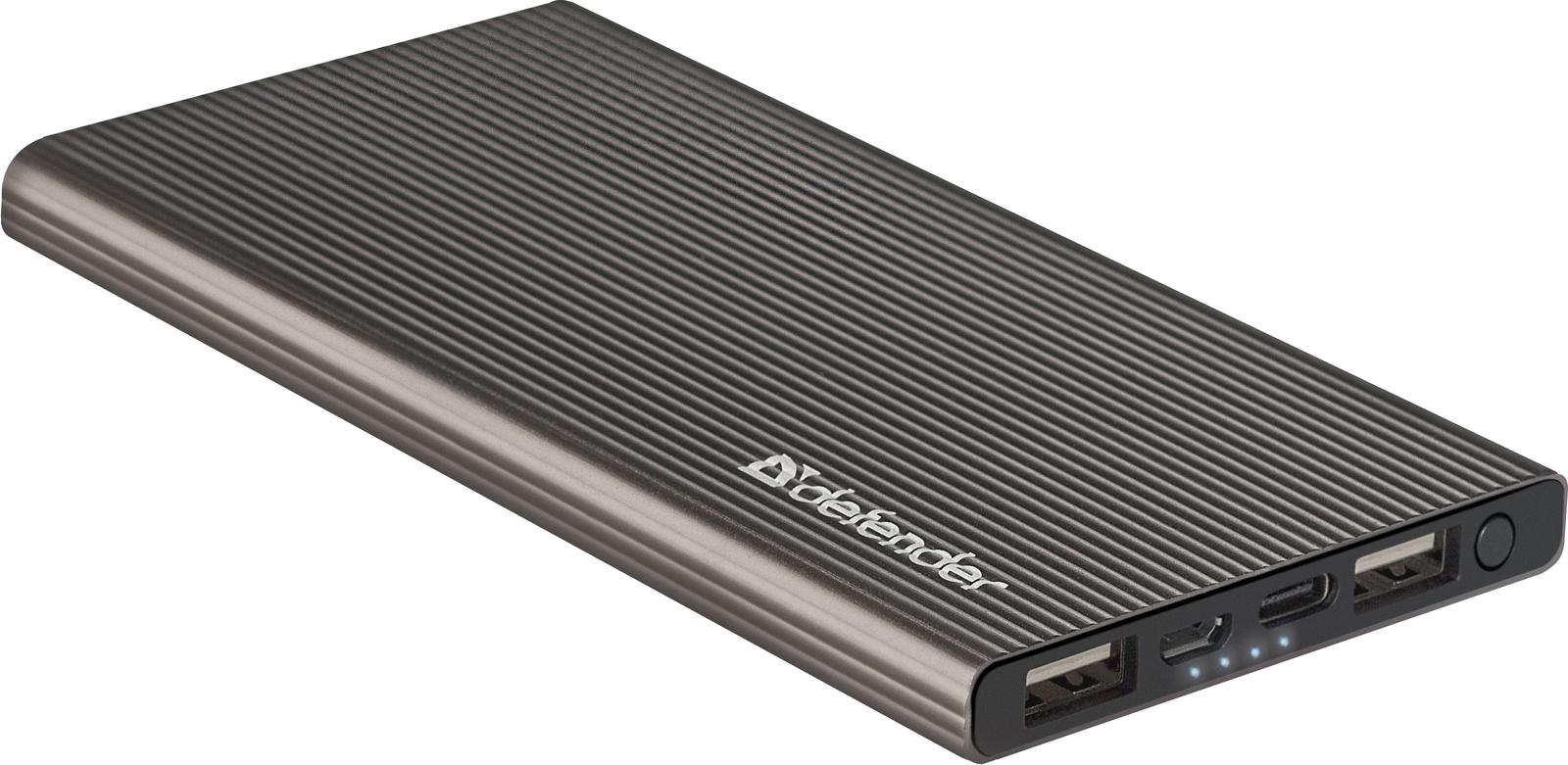 Фото - Внешний аккумулятор Defender ExtraLife Fast, 83627, 5000 mAh, черный аккумулятор