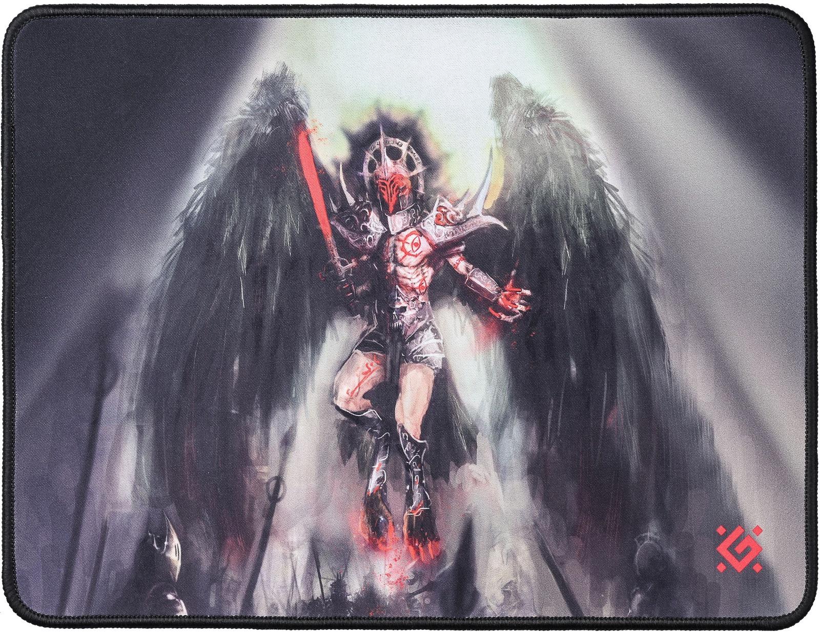 Игровой коврик для мыши Defender Angel of Death M, 50557, черный