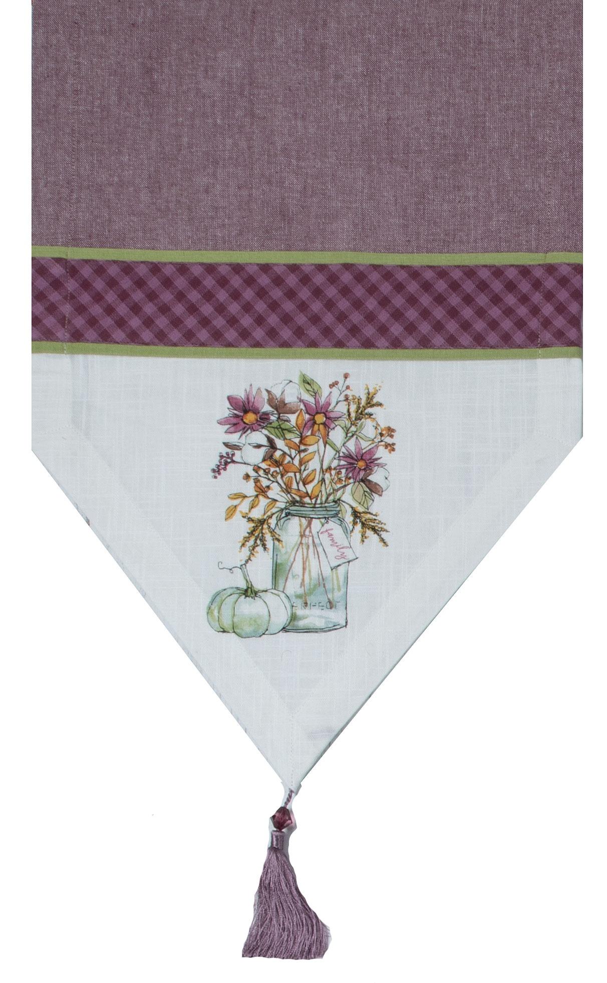 Дорожка Kay Dee Designs Inc Натюрморт, KDH3109, 33х183 смKDH3109KAY DEE DESIGNS INC один из самых признанных поставщиков кухонного текстиля. Упаковано в пленку