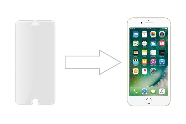 Защитное стекло Ainy для Apple iPhone 7 матовое, AF-A578