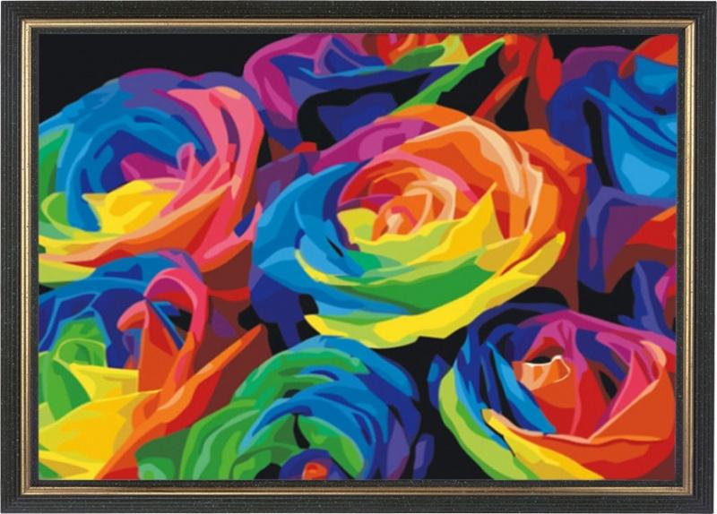 Алмазная мозаика Color Kit Картины со стразами, CKC001 Color KIT