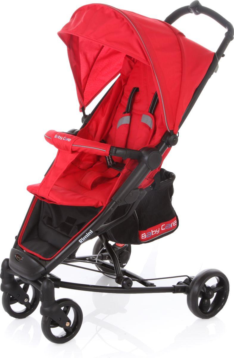 Baby Care Коляска прогулочная Rimini цвет красный
