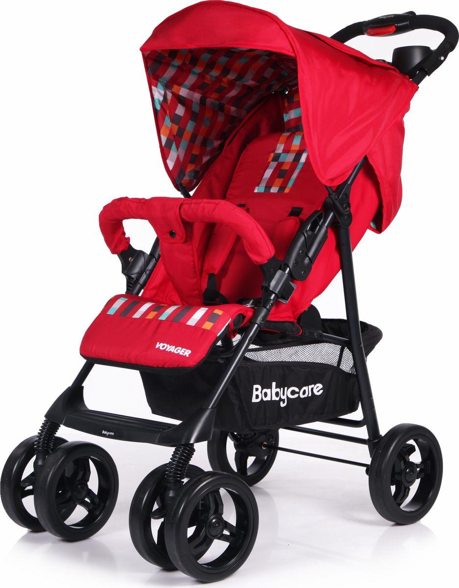 Baby Care Коляска прогулочная Voyager цвет красный коляска baby care voyager green