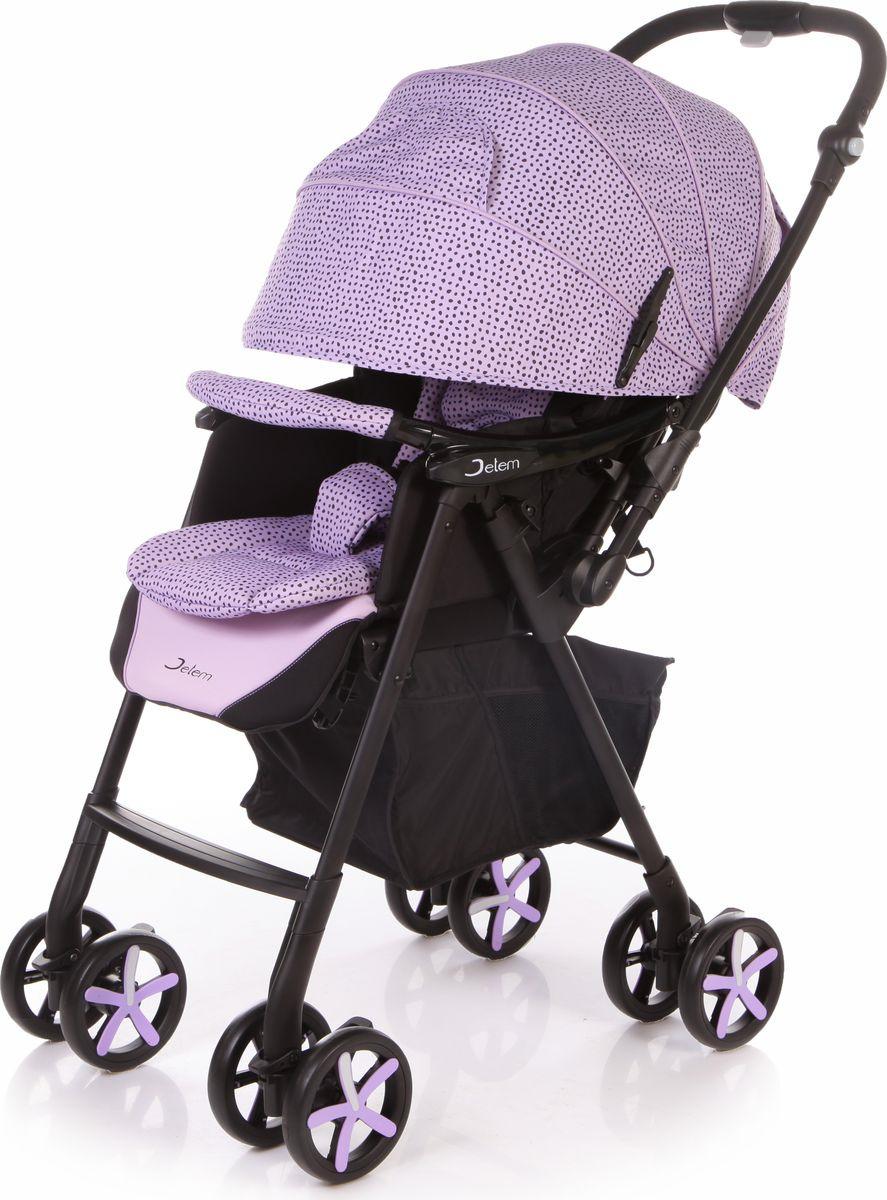 Jetem Коляска прогулочная Graphite цвет фиолетовый
