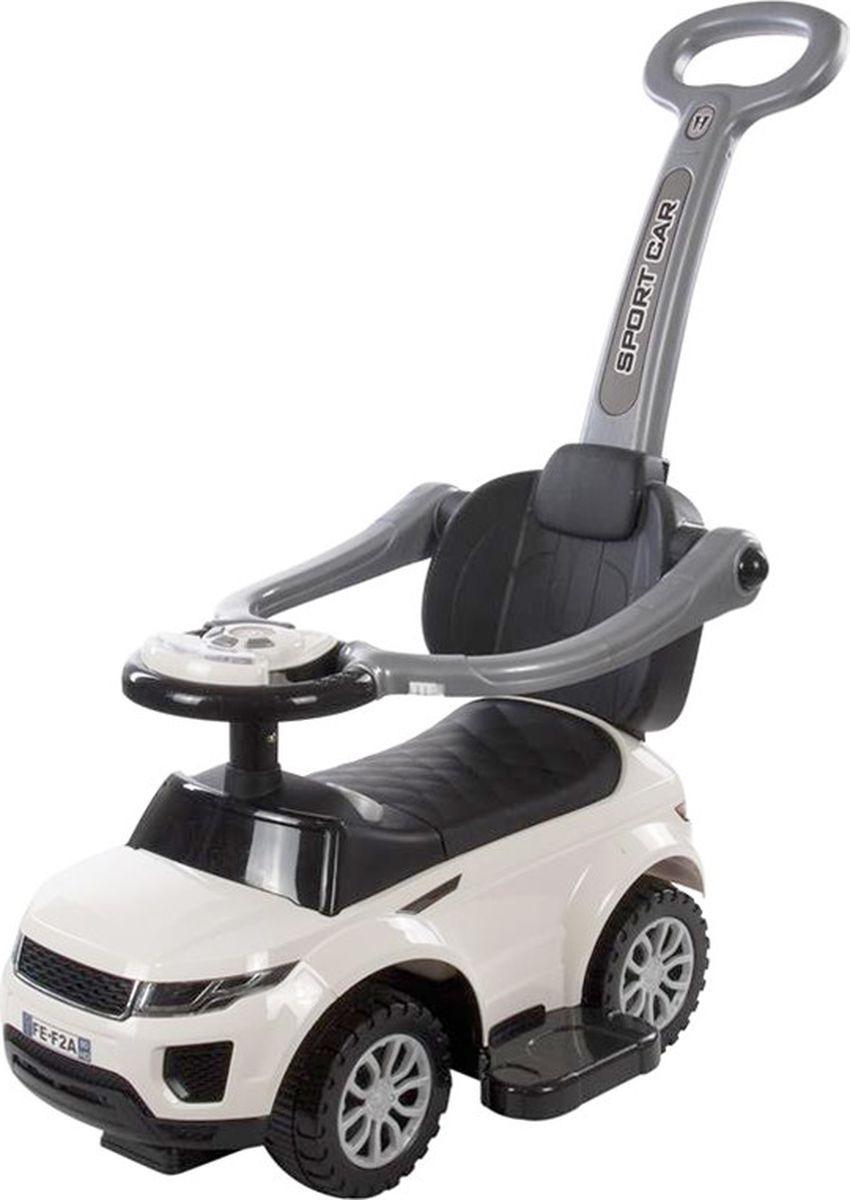 цена Baby Care Каталка детская Sport car цвет белый онлайн в 2017 году