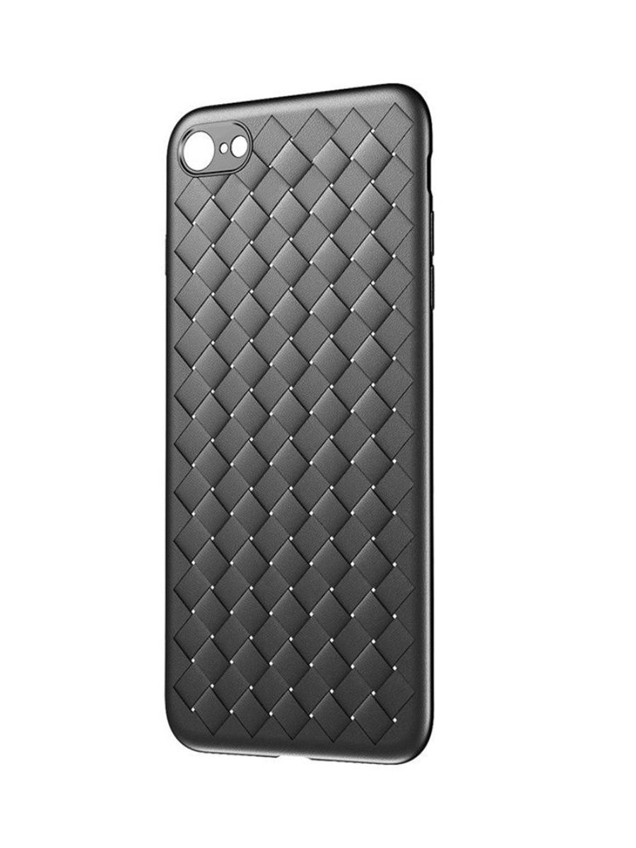 Чехол-накладка Baseus Apple iPhone 6 Plus/6S Plus BV Weaving, 572565, черный