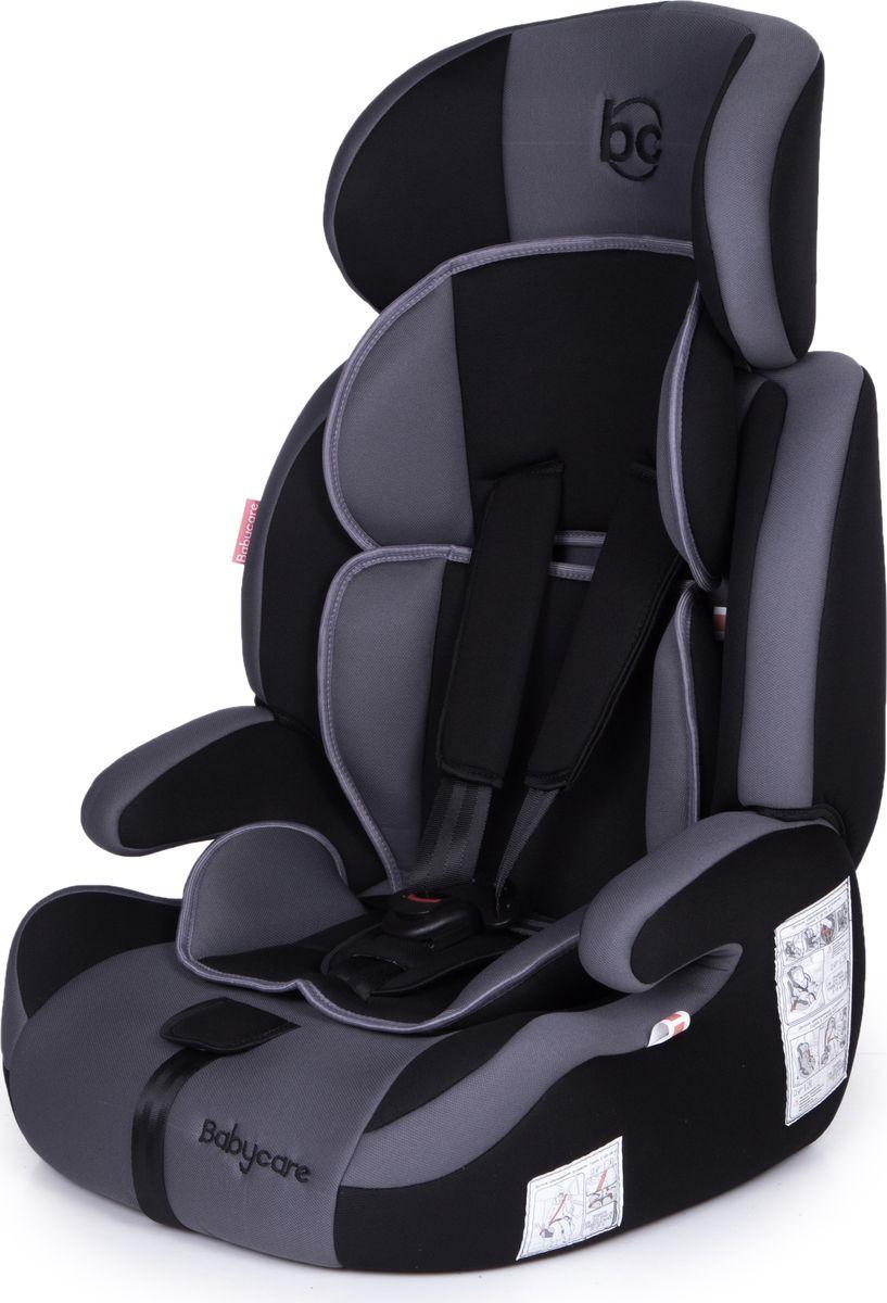 Автокресло Baby Care Legion от 9 до 36 кг, 1023, серый, черный