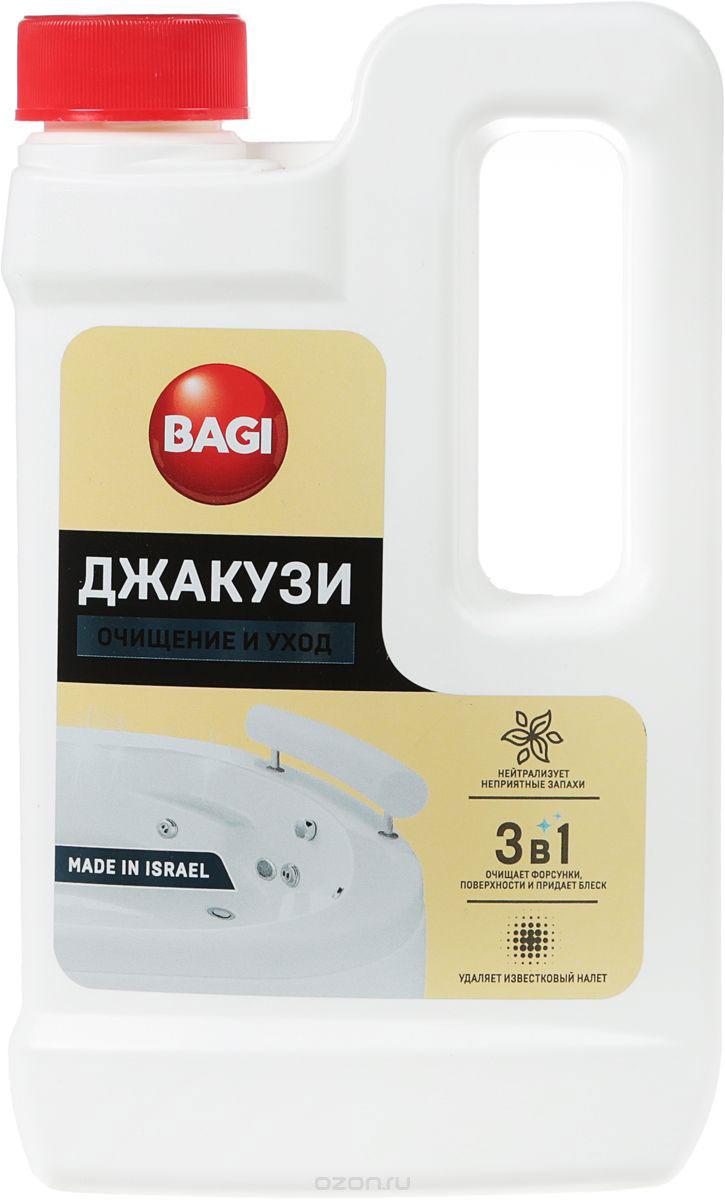 Средство для ванной и туалета Bagi Джакузи, BG-B-208993-0, 550 мл
