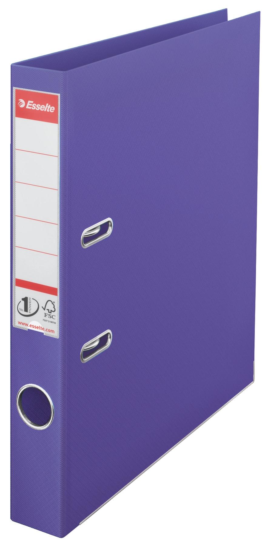 Папка-регистратор Esselte No.1, А4, 50 мм, фиолетовый Esselte