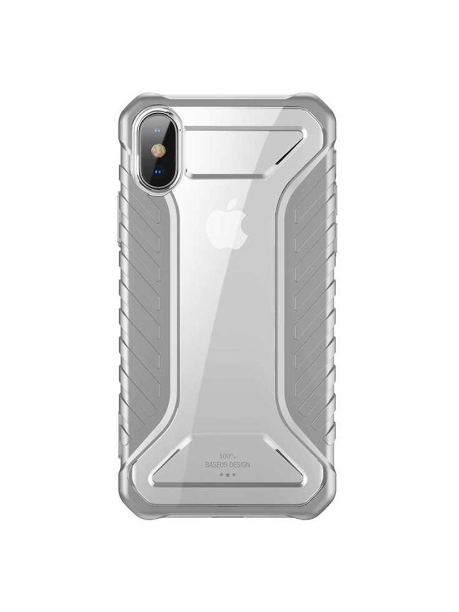 Чехол-накладка Baseus Apple iPhone XS Max Michelin Race, 572550, серый