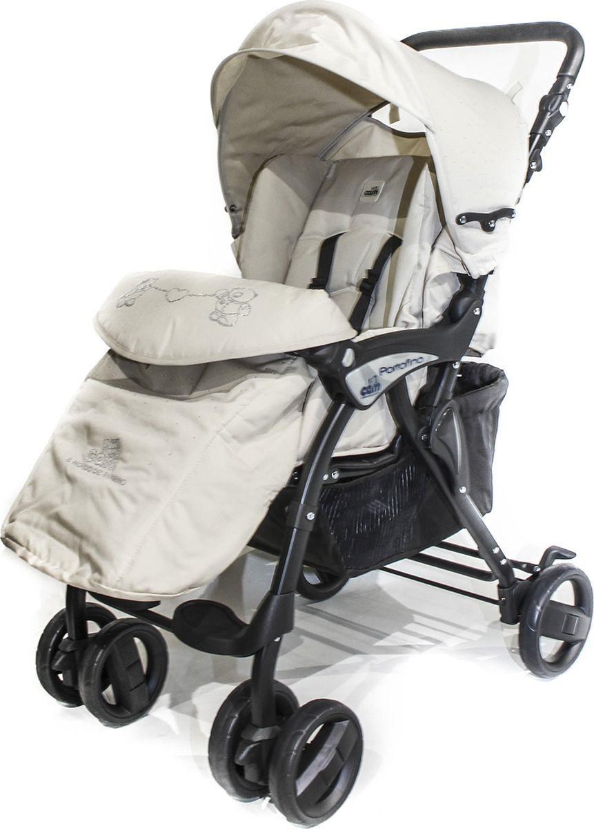 Коляска прогулочная Cam Portofino, 822/405, кремовый прогулочная коляска cam fluido allegria