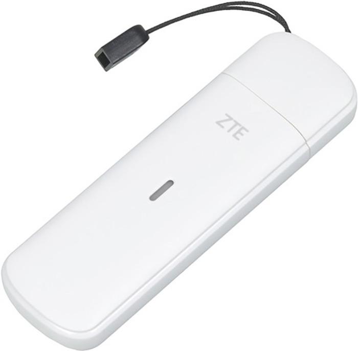 USB-модем ZTE + роутер, MF833T, белый