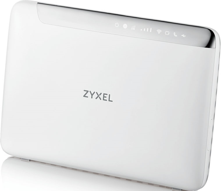 Маршрутизатор Zyxel LTE5366-M608, LTE5366-M608-EU01V1F, белый