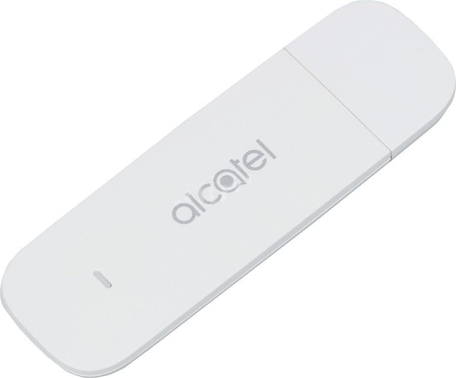 USB-модем Alcatel Link Key, IK40V-2BALRU1, белый usb модем alcatel link zone роутер mw40v 2balru1 белый