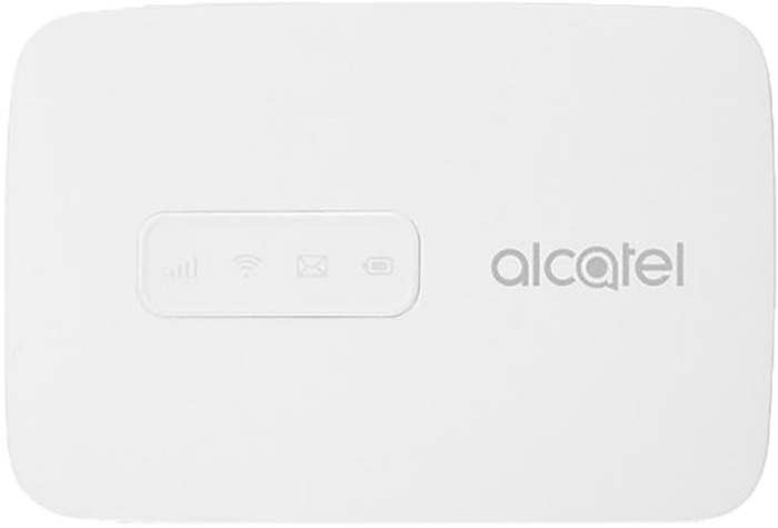 USB-модем Alcatel Link Zone + роутер, MW40V-2BALRU1, белый модем 2g 3g 4g zte mf79 usb wi fi router внешний черный